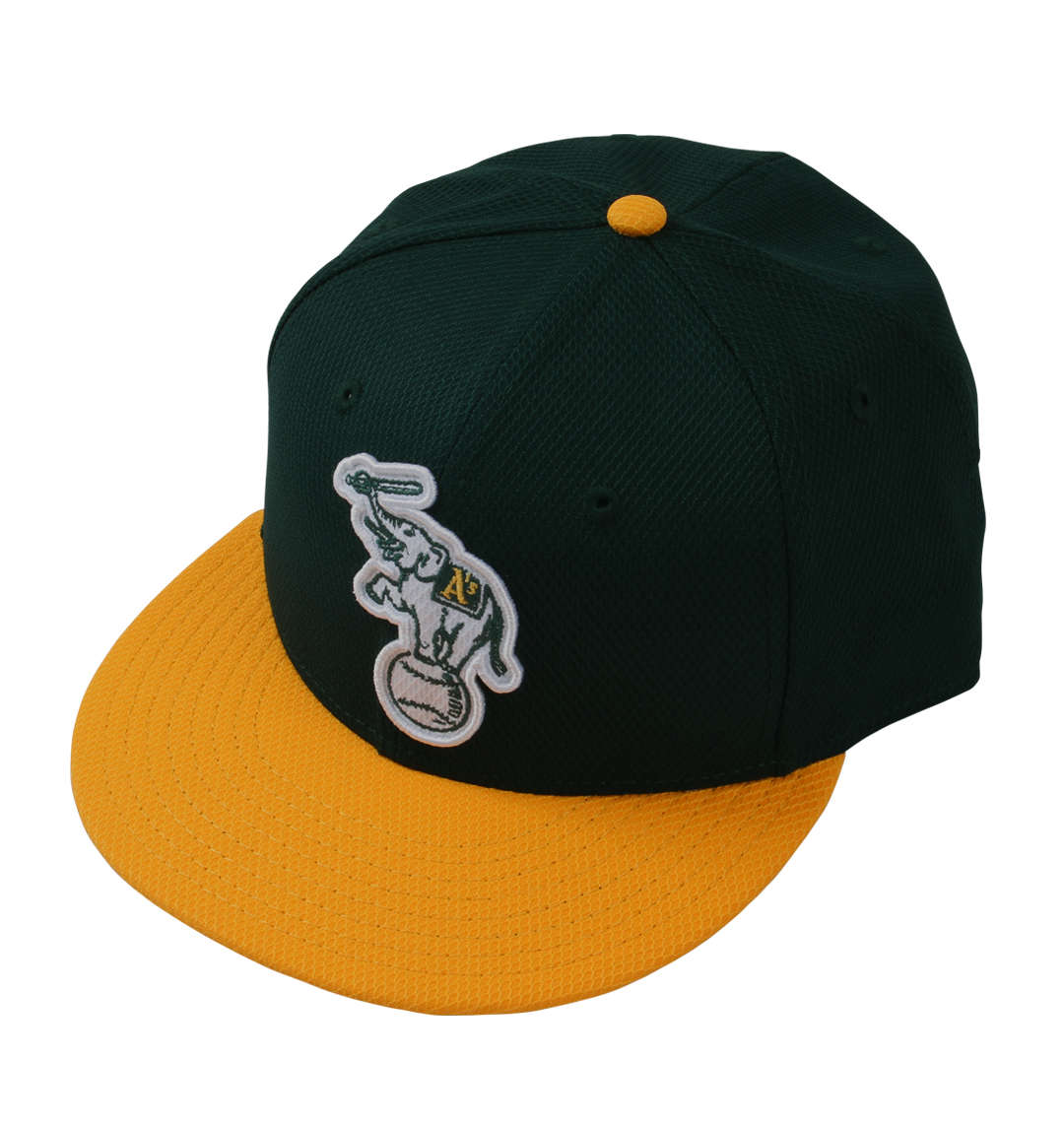 NEWERAキャップ(Oakland Athletics)