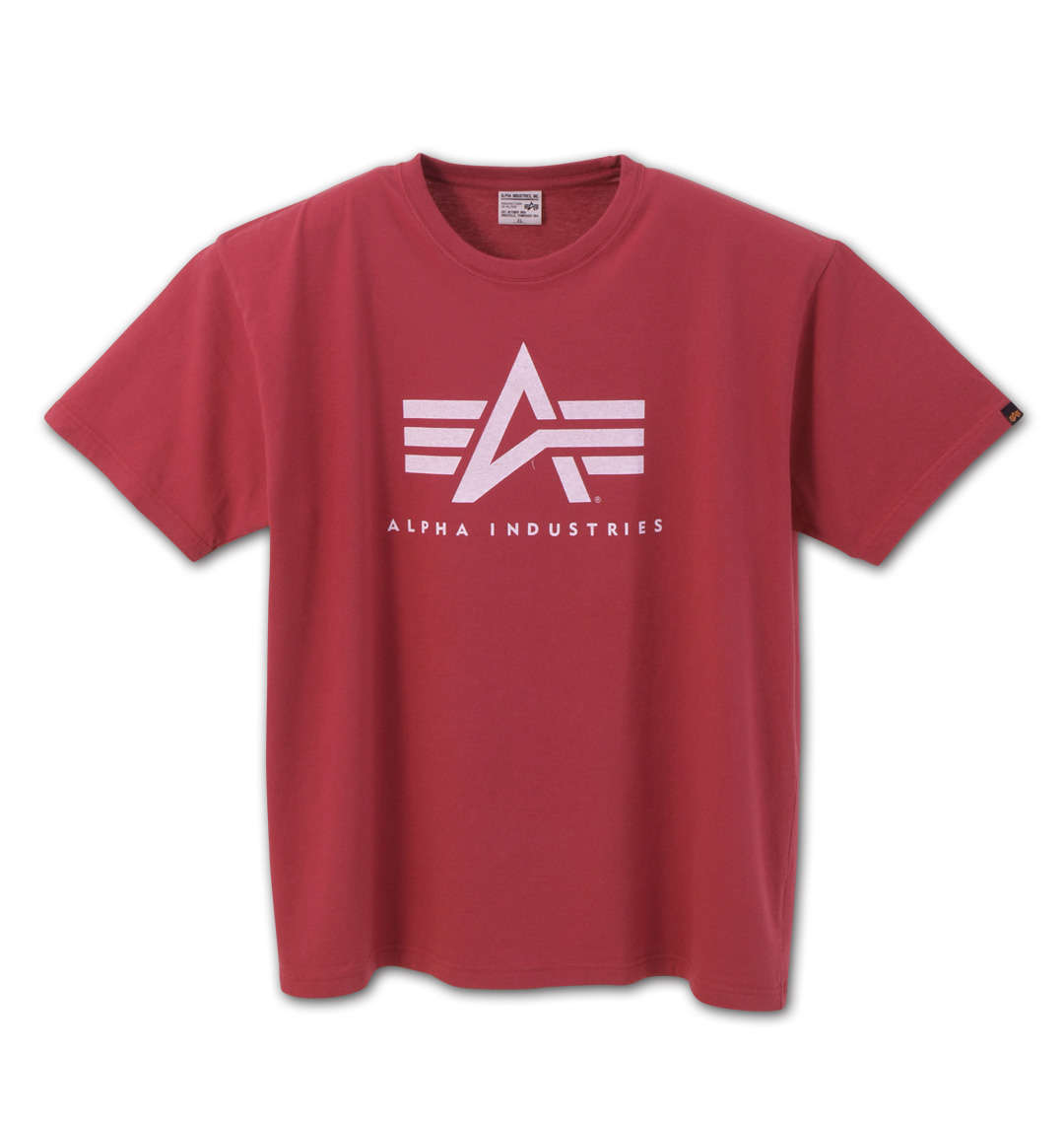 ALPHA INDUSTRIESAマーク半袖Tシャツ