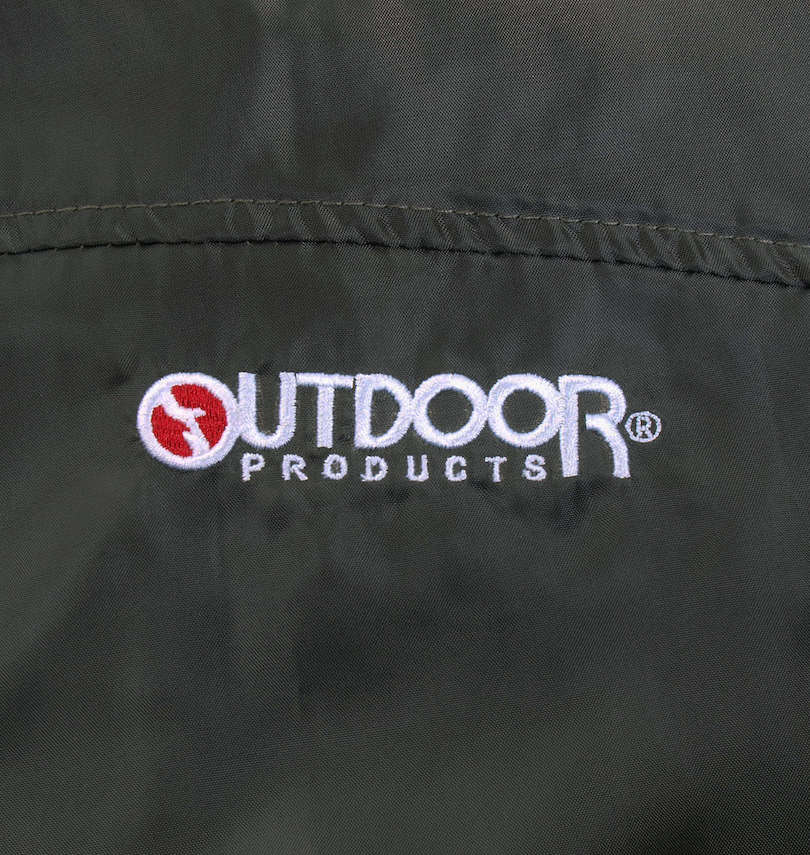 OUTDOOR PRODUCTS 裏メッシュウインドブレーカー 刺繡