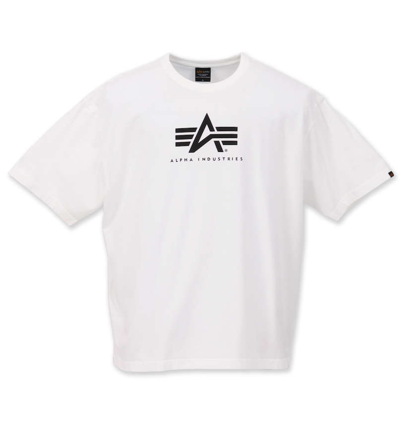 ALPHA INDUSTRIES Aマーク半袖Tシャツ