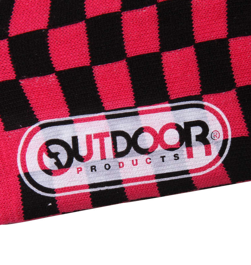 OUTDOOR PRODUCTS 3Pチェッカースニーカーインソックス