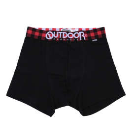 OUTDOOR PRODUCTS バッファローチェックゴムボクサーパンツ
