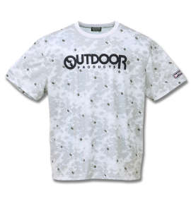 OUTDOOR PRODUCTS DRYメッシュ総柄半袖Tシャツ