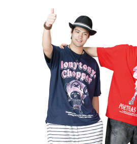 ONE PIECE チョッパー半袖Tシャツ