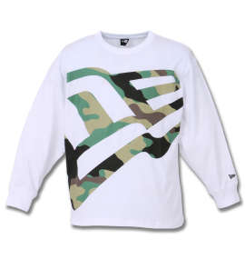 NEW ERA Zoom Up Flag Logo長袖Tシャツ