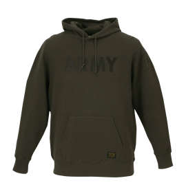 ALPHA INDUSTRIES ARMYプルパーカー
