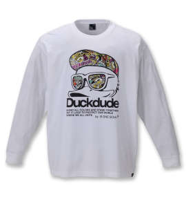 b-one-soul DUCK DUDE長袖Tシャツ