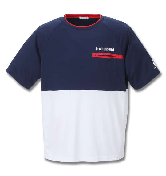 LE COQ SPORTIF アクティブソフトスムース半袖Tシャツ